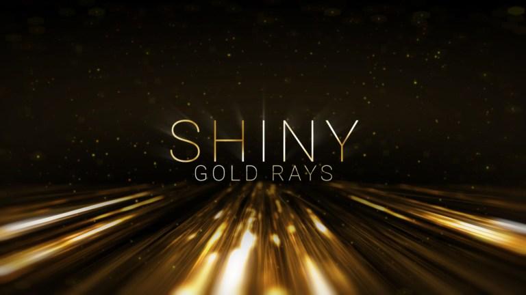 نصوص أشعة الذهب اللامعة | ألقاب الجائزة 4 لـ After Effects