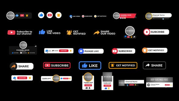 Videohive YouTube Subscriber Pack